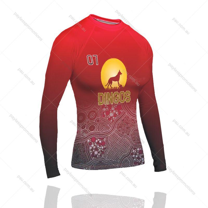 RV2-L Ladies Full-Custom Sublimation Long Sleeve Imprinted Swimming Vests