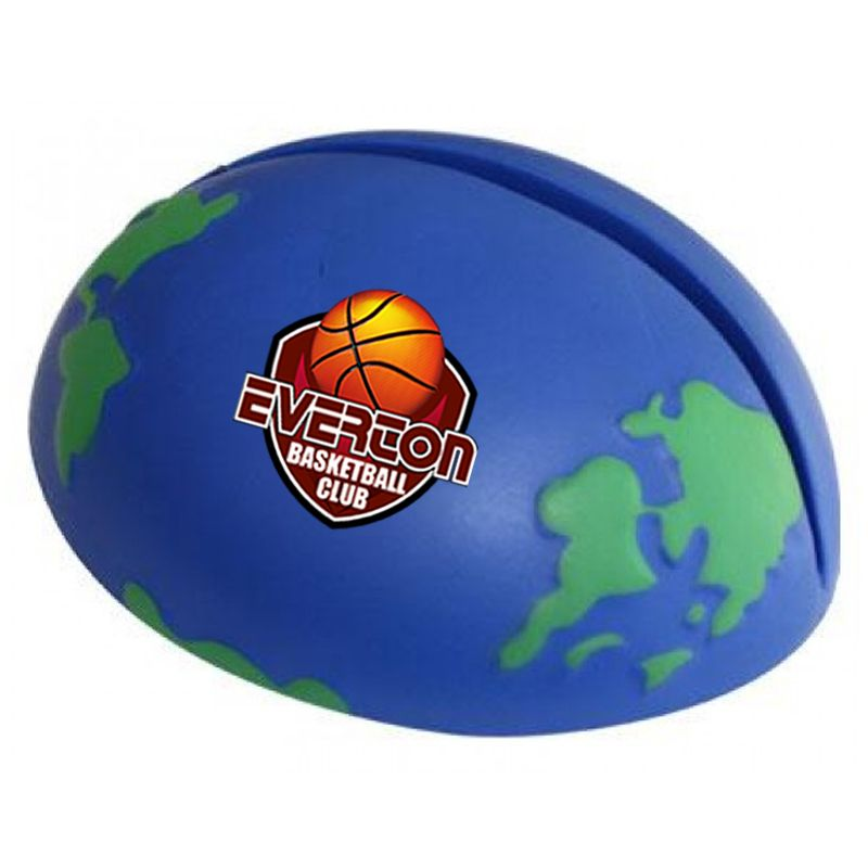 S123 Earth Branded Paper Holder Stress Balls