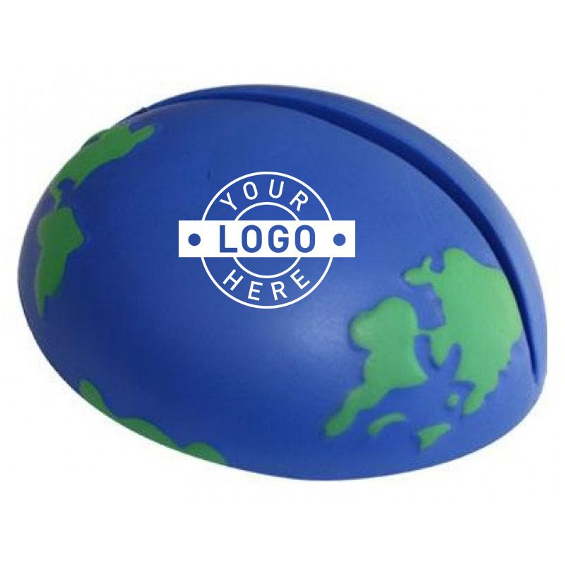 S123 Earth Promotional Paper Holder Stress Balls