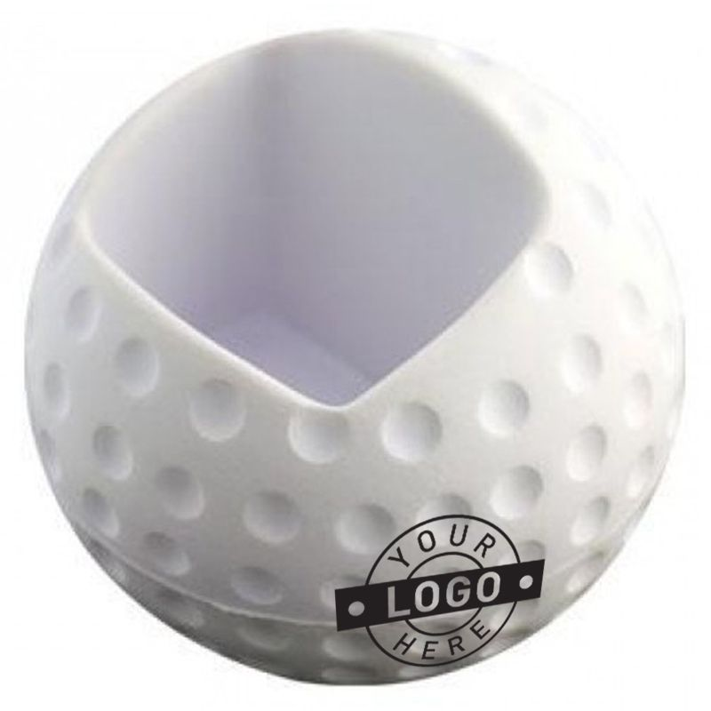 S132 Golf Printed Mobile Phone Holder Stress Balls