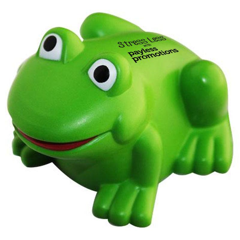 S135 Frog Custom Animal Stress Balls