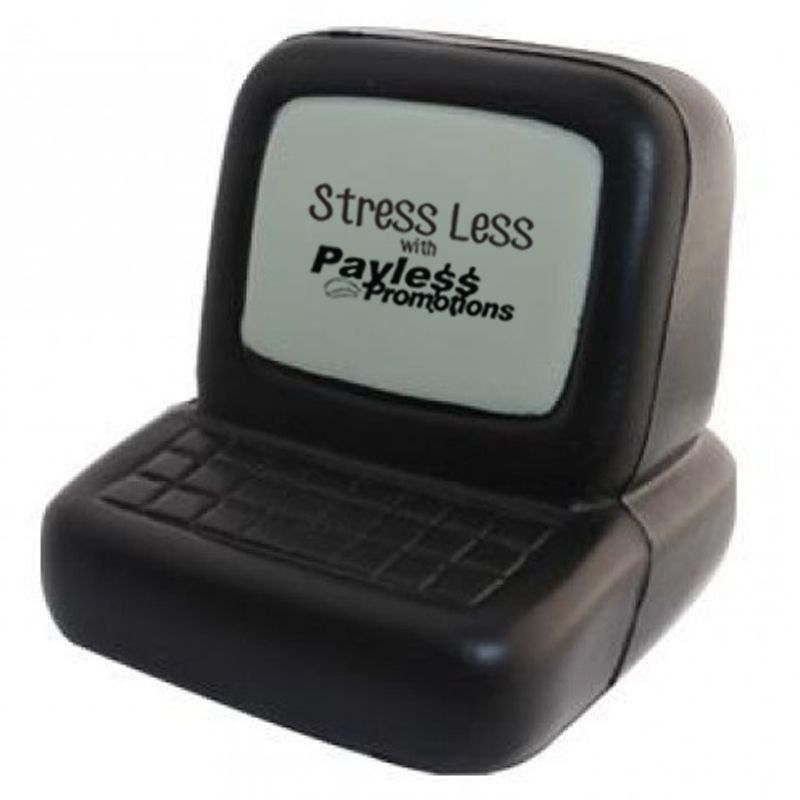 S139 Computer Promotional IT Stress Shapes