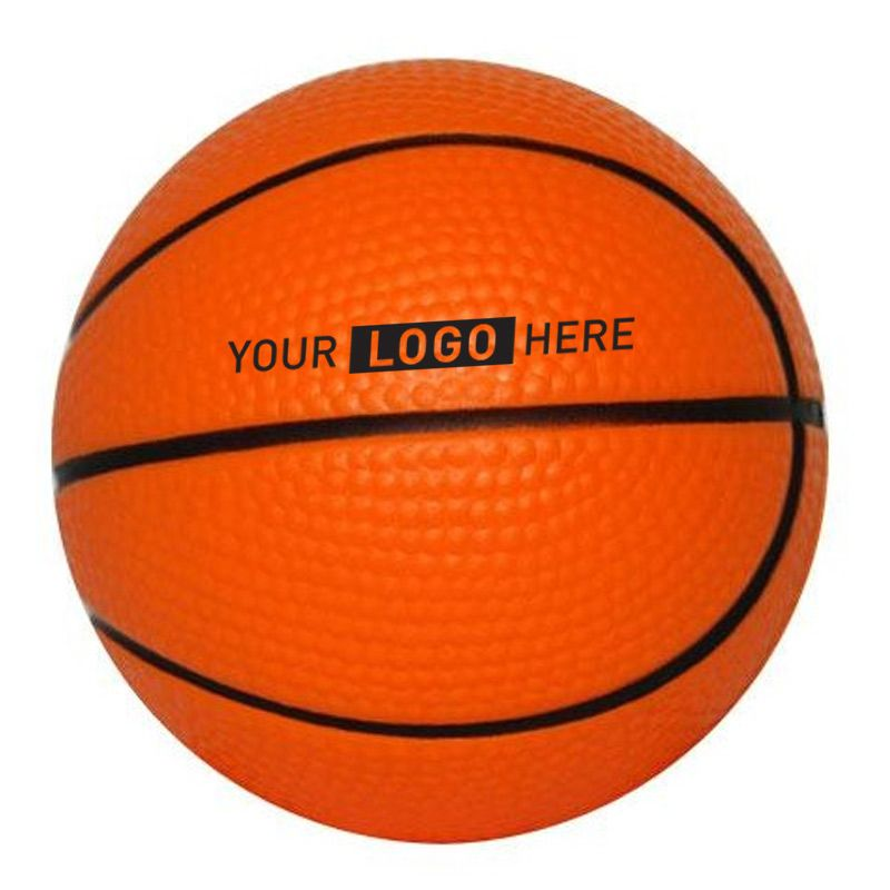 S14 Basket Ball Orange Promotional Sports Stress Balls