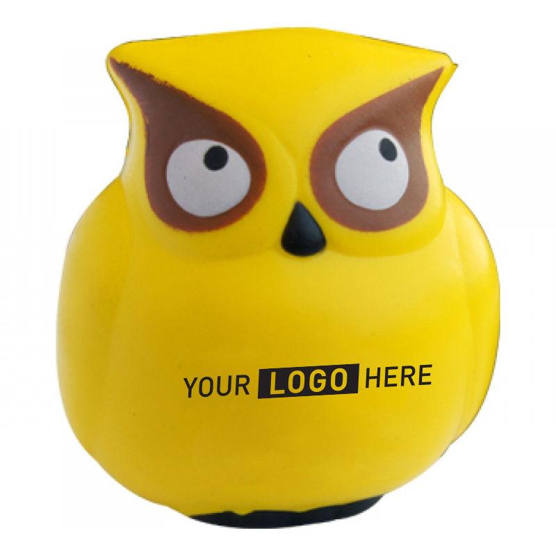 S219 Owl Personalised Animal Stress Balls
