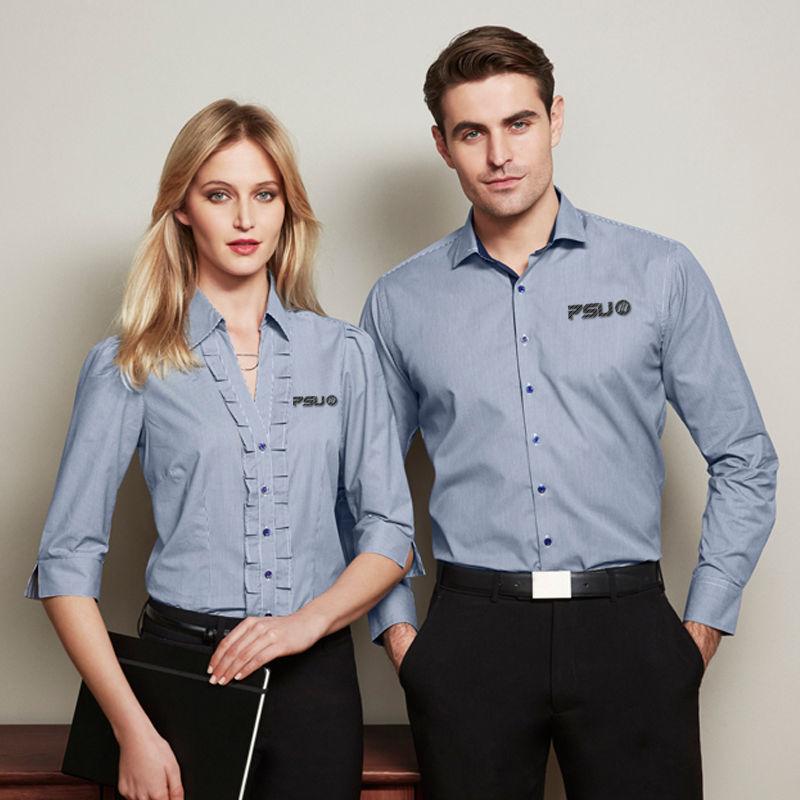 S267ML Edge Business Shirts