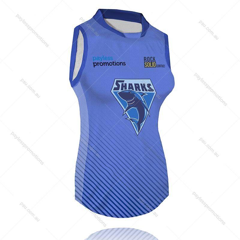 S6-L+VB Ladies Full-Custom Muscle-Cut Volleyball Jerseys - X Series Elite