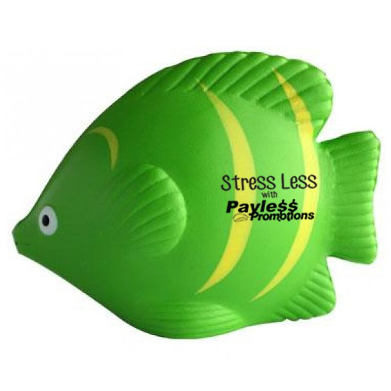 S67 Tropical Fish Promotional Animal Stress Balls