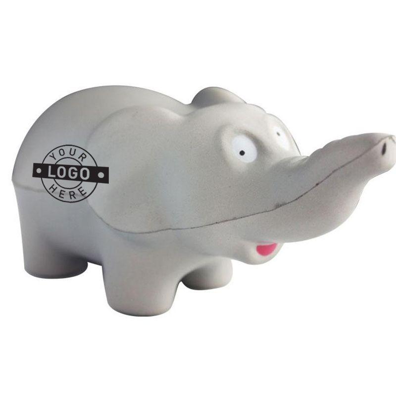 S70 Elephant Custom Animal Stress Balls