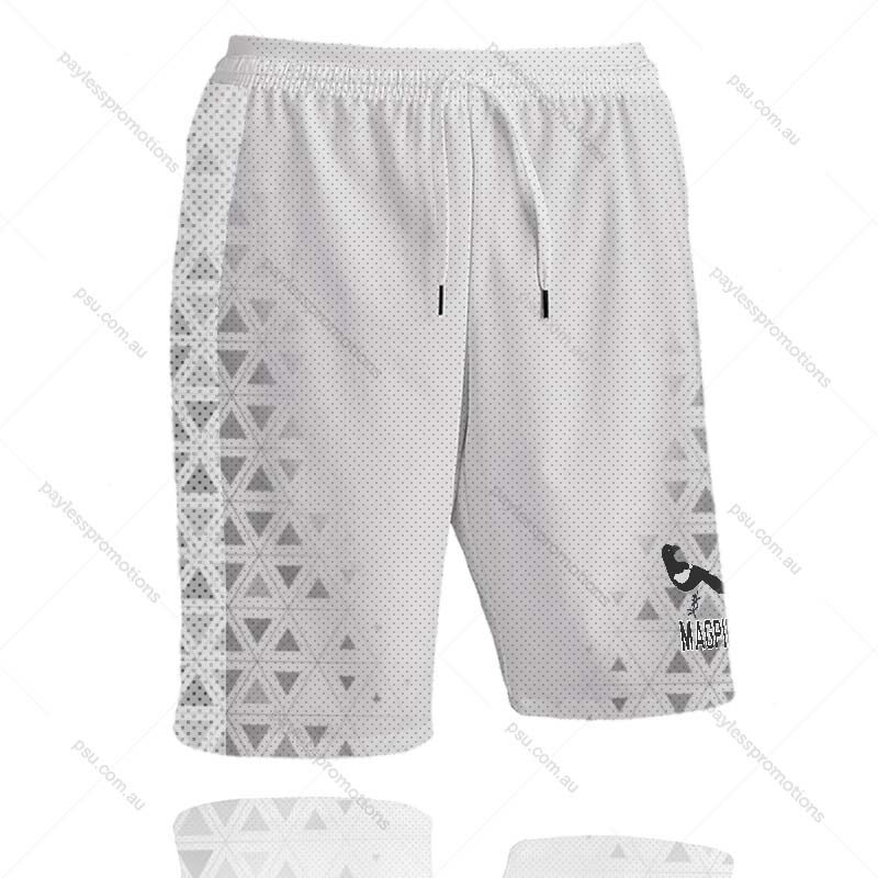 SH11-K Kids Full-Custom Sublimation Workout Shorts With Pockets - X Series Elite