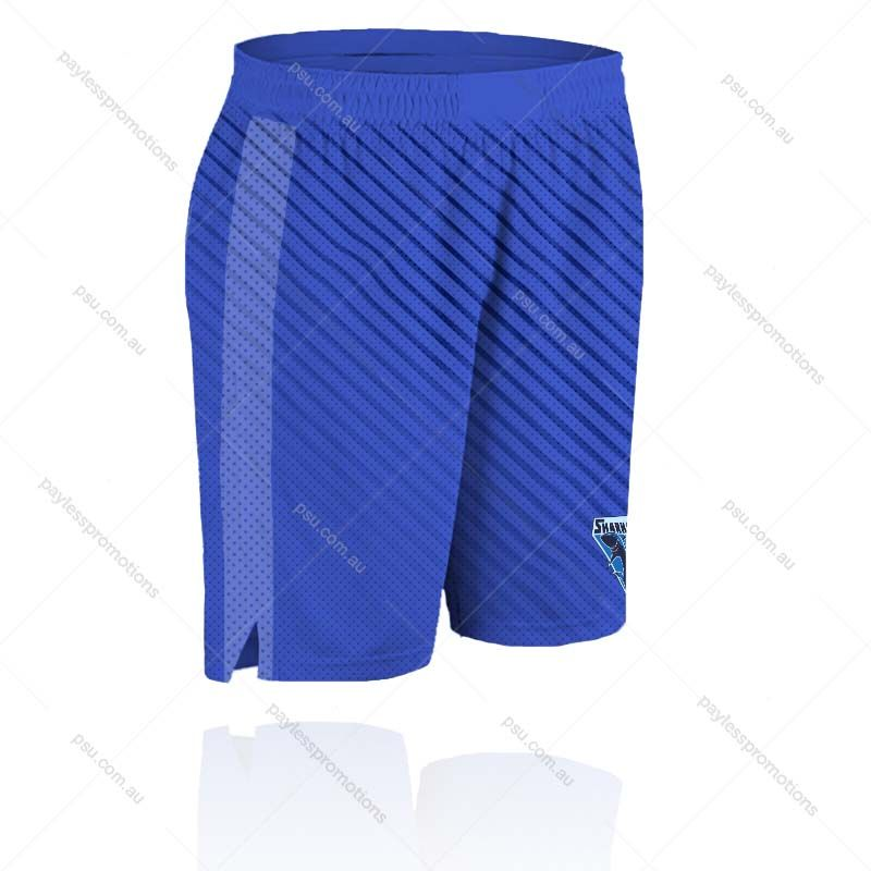 SH7-L Ladies Full-Custom Sublimation Basketball Team Shorts (No Pockets) - X Series Elite