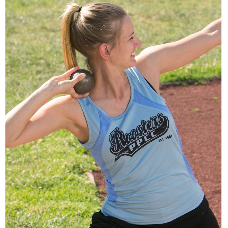 TS74 Ladies Athletic Sprint CoolDry Printed Singlets