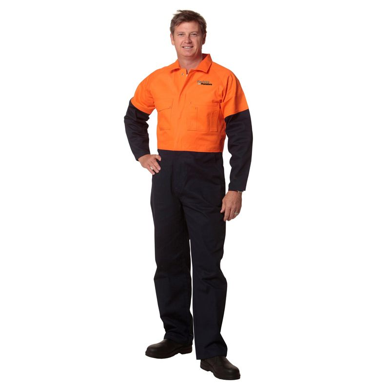 SW205 Coverall Branded Overalls - Stout