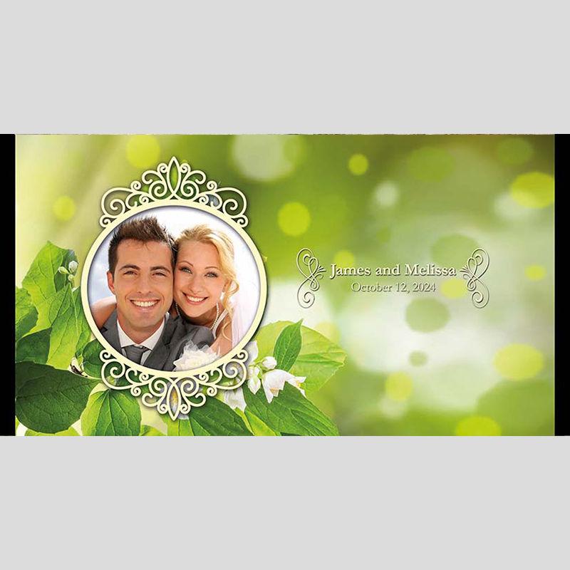 WD160 Photo Frame Wedding Stubby Holders