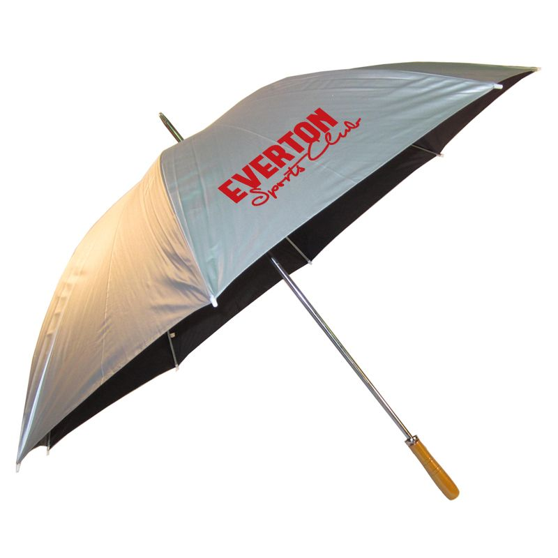 WG001(S) Par (Silver) Printed Golf Umbrellas With Steel Shaft & Ribs