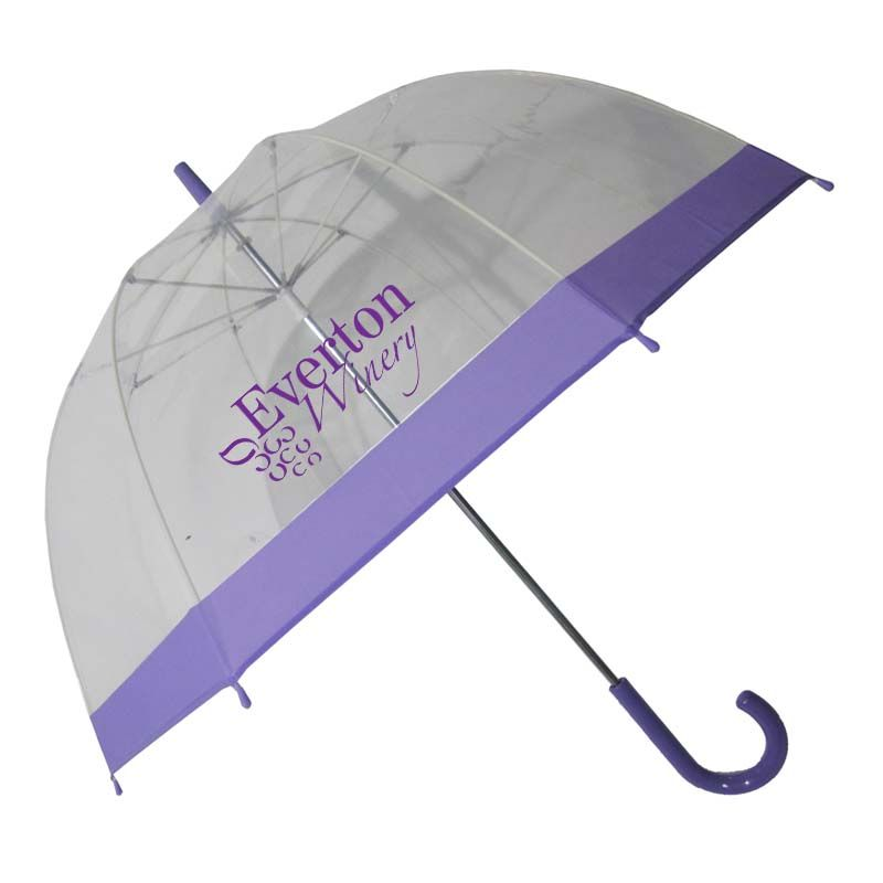WL024 Bell Clear Logo Corporate Umbrellas