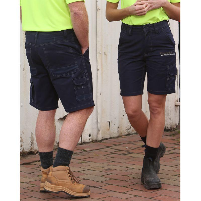 WP21 Unisex Cordura Canvas Cargo Custom Workwear Shorts