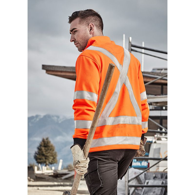 ZT660 Unisex X-Back Rail Logo High Visibility Windcheaters With Biomotion Reflective Tape