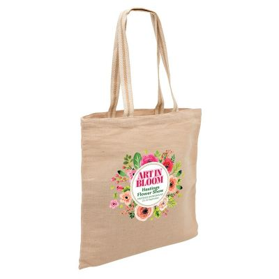 1168 Eco Custom Jute Bags (38cm x 42cm)