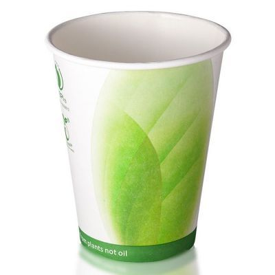12H-OP 355ml Branded Cardboard Coffee Cups With 90mm Lid - Offset Printing