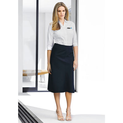 Cheap Custom Embroidered Corporate Uniform Business Skirts
