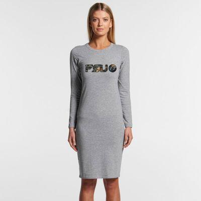 4033 Ladies Mika Long-Sleeve Organic Dress