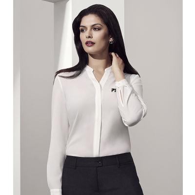 44210 Juliette Plain Uniform Business Shirts