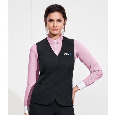 54012 Ladies Longline Branded Corporate Vests