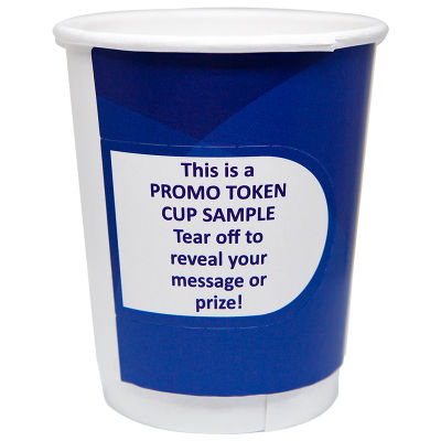 8EZ90-DPC 280ml Branded Paper Coffee Cups With 90mm Lid And Coupon