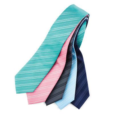 99101 Self Stripe Custom Ties