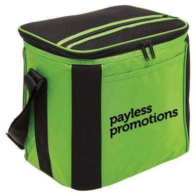B340 Large Printed Cooler Bags With Adjustable Shoulder Strap