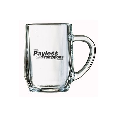 GLBM04361 280ml Haworth Custom Glass Beer Mugs