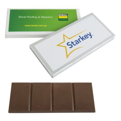 CC009H2 Australian Made Milk Promo Chocolates Bar With Big Sticker - 45g