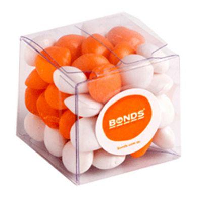 CC013J Skittles Look-Alike Filled Soft Branded Cubes - 60g