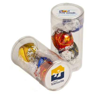 CC014F Lindt Lindor Balls Filled Corporate Tubes - 13g x 3