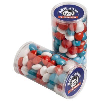 CC014G Skittles Look-Alike Filled Corporate Tubes - 100g
