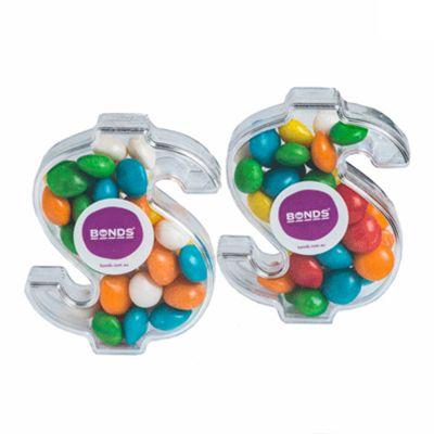 CC029E2 Skittles Look-Alikes Filled Branded Dollars - 40g