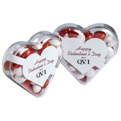 CC030E1 Skittles Look-Alikes Filled Branded Hearts - 50g