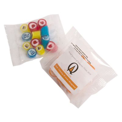 CC041A2 Rock Candy Filled Branded Lolly Bags - 20g