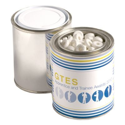 CC044B Chewy Mint Filled Branded Paint Tins - 225g