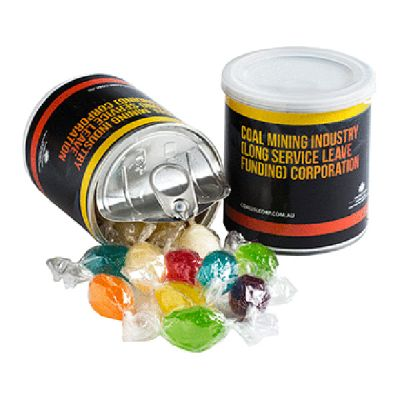 CC045G Boiled Lolly Filled Corporate Cans - 130g