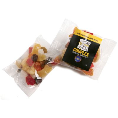 CC050T2 Dried Fruit Filled Branded Lolly Bags - 20g