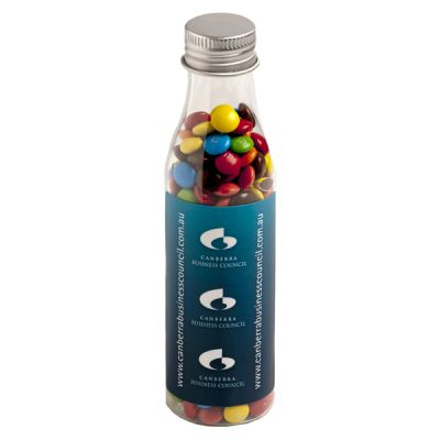 CC057D Mini M&M Filled Branded Soft Drink Bottles - 95g