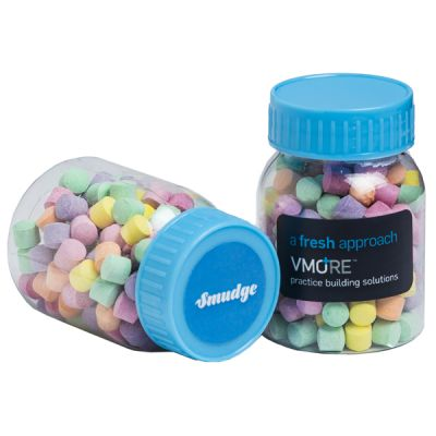 CC066F Rainbow Lolly Filled Branded Pill Jars - 50g