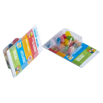 CC069AP Biz Card Box with Jelly Beans + Full Custom Box Print - 50g