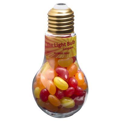 CC074A Jelly Bean Filled Branded Light Bulbs - 100g
