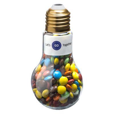 CC074D M&M Filled Branded Light Bulbs - 100g