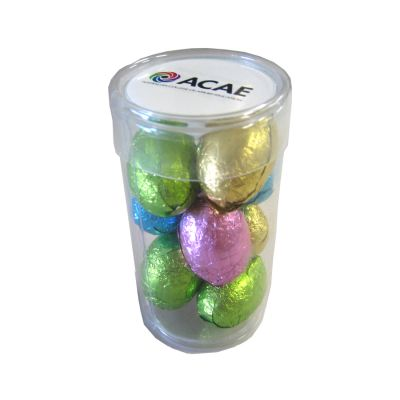 CCE012A Easter Egg Filled Corporate Tubes - 9 x 70g