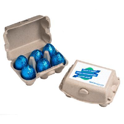 CCE029 Branded Easter Eggs In Carton - 17g