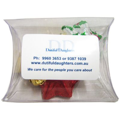 CCX009B Chocolate Filled Promo Lolly Bags - 25g