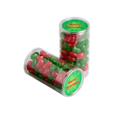 CCX014A Jelly Bean Filled Custom Tubes - 100g